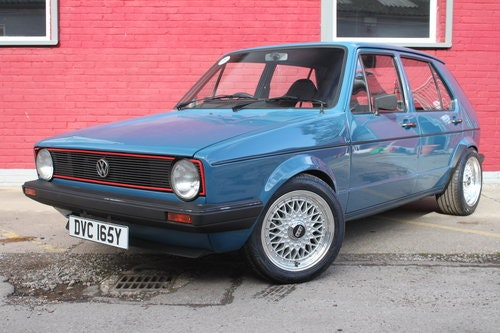 1983 CUSTOM 4DR GOLF GTI ENGINE For Sale (picture 1 of 3)