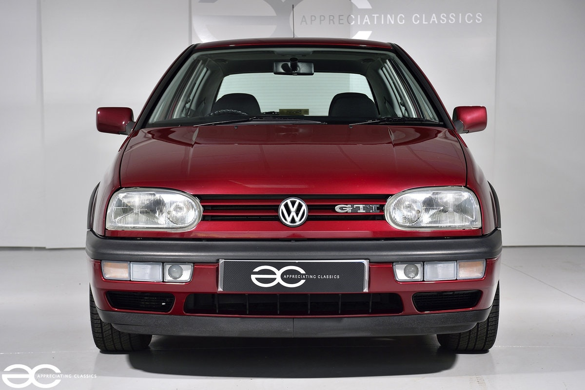 1996 As New Golf GTi - One Owner - 14k Miles - Full History SOLD (picture 1 of 6)