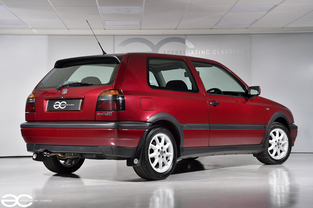 1996 As New Golf GTi - One Owner - 14k Miles - Full History SOLD (picture 3 of 6)