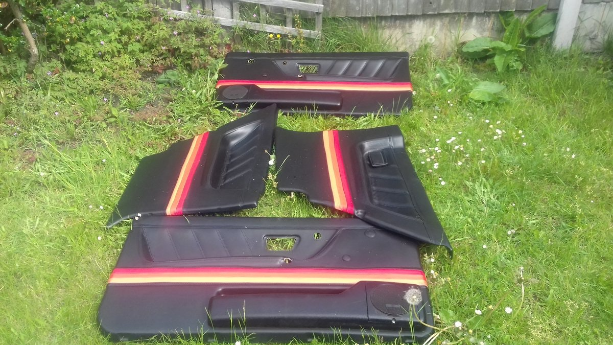 MK2 VW GOLF  FRONT AND REAR BUMPERS For Sale (picture 3 of 5)