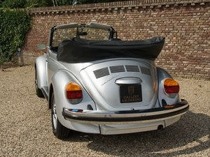 1979 Volkwagen Käfer / Beetle Convertible only 19.037 miles! For Sale (picture 5 of 6)