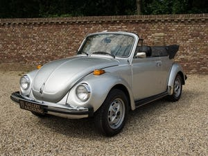 1979 Volkwagen Käfer / Beetle Convertible only 19.037 miles! For Sale (picture 6 of 6)