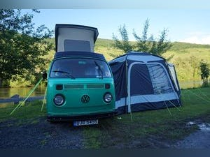 1976 Green VW Camper with Refurbished Engine For Sale (picture 4 of 6)