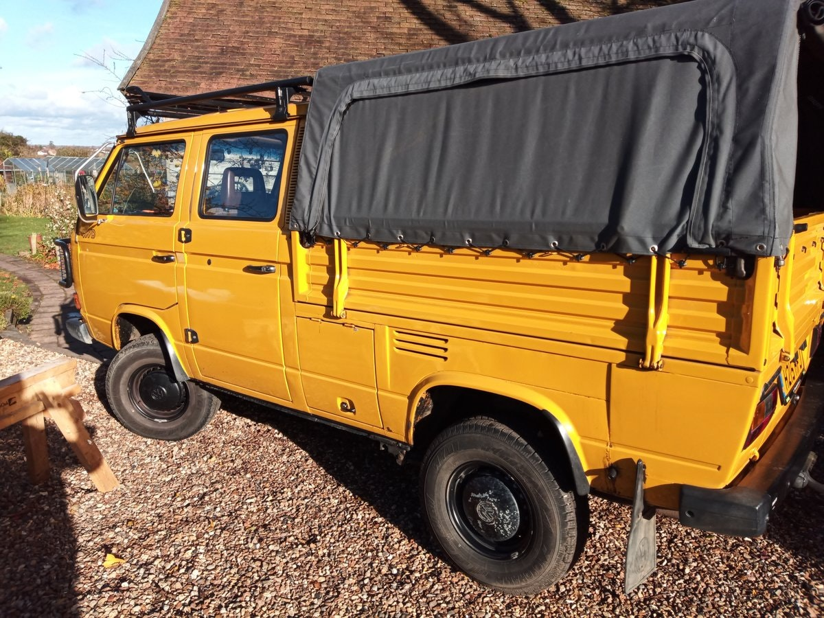 1990 VW T25 Syncro Double Cab pickup (Doka) SOLD (picture 1 of 6)