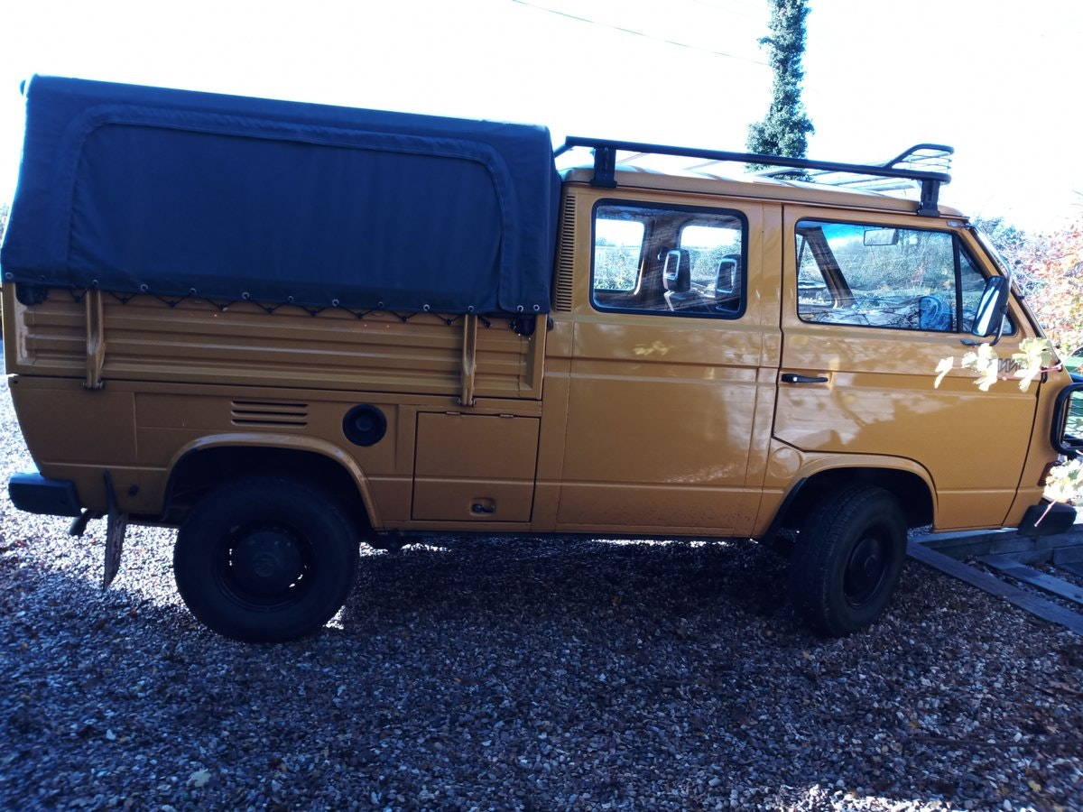 1990 VW T25 Syncro Double Cab pickup (Doka) SOLD (picture 2 of 6)
