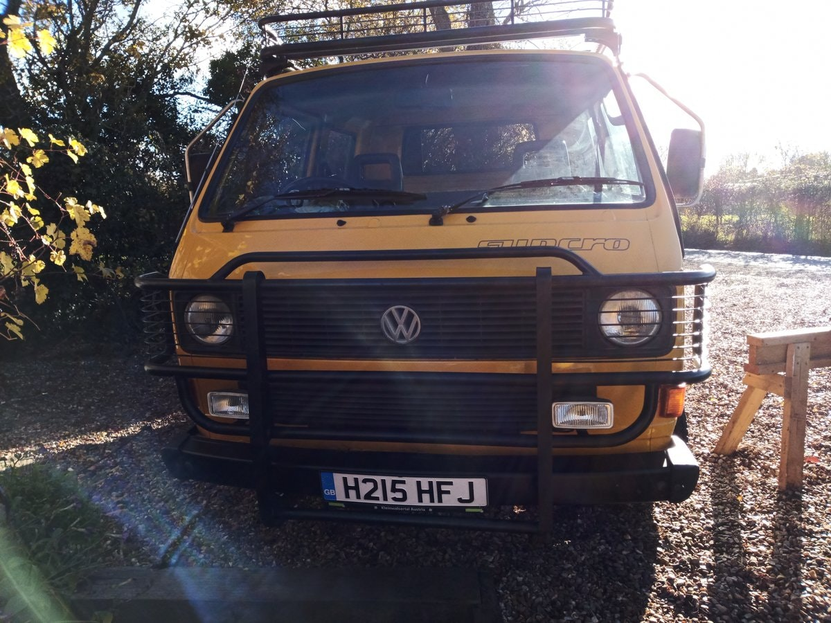 1990 VW T25 Syncro Double Cab pickup (Doka) SOLD (picture 4 of 6)