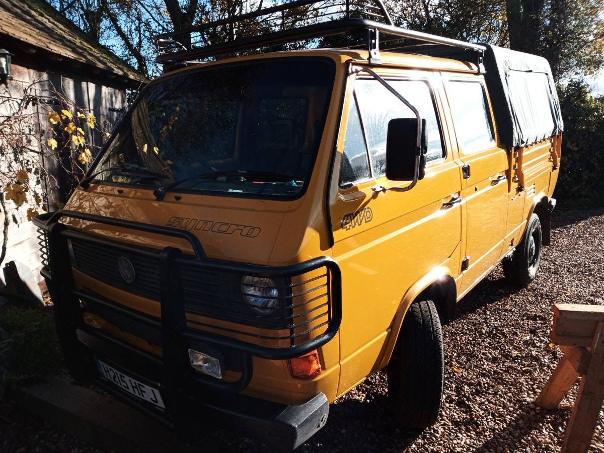 1990 VW T25 Syncro Double Cab pickup (Doka) SOLD (picture 5 of 6)