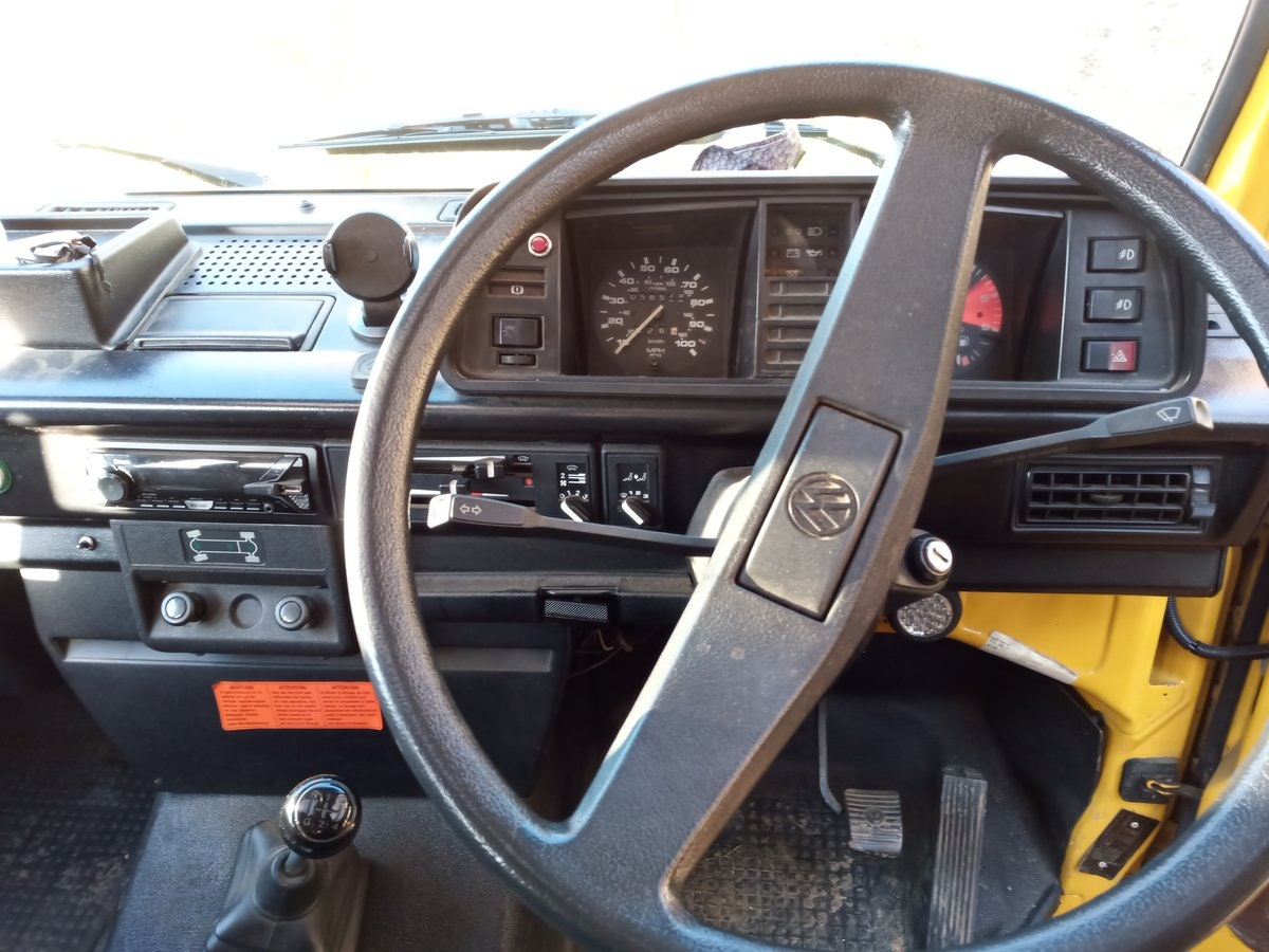 1990 VW T25 Syncro Double Cab pickup (Doka) SOLD (picture 6 of 6)