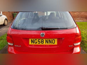 2008 vw golf se estate 1.9tdi PD dsg 7 speed For Sale (picture 4 of 10)