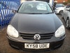 10 PLATE GOLF 5 DOOR 1900cc DIESEL IN BLACK FITTED  ALLOYS