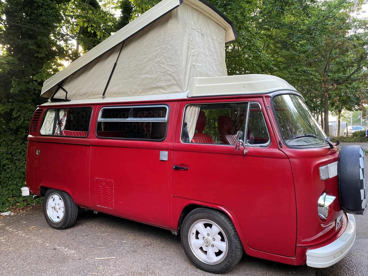 1979 VW T2 Late Bay Campervan 2.0L Mot+Tax Exempt For Sale (picture 1 of 11)