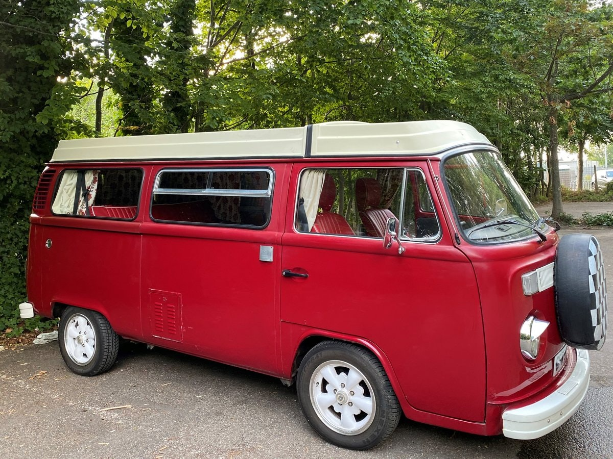 1979 VW T2 Late Bay Campervan 2.0L Mot+Tax Exempt For Sale (picture 2 of 11)