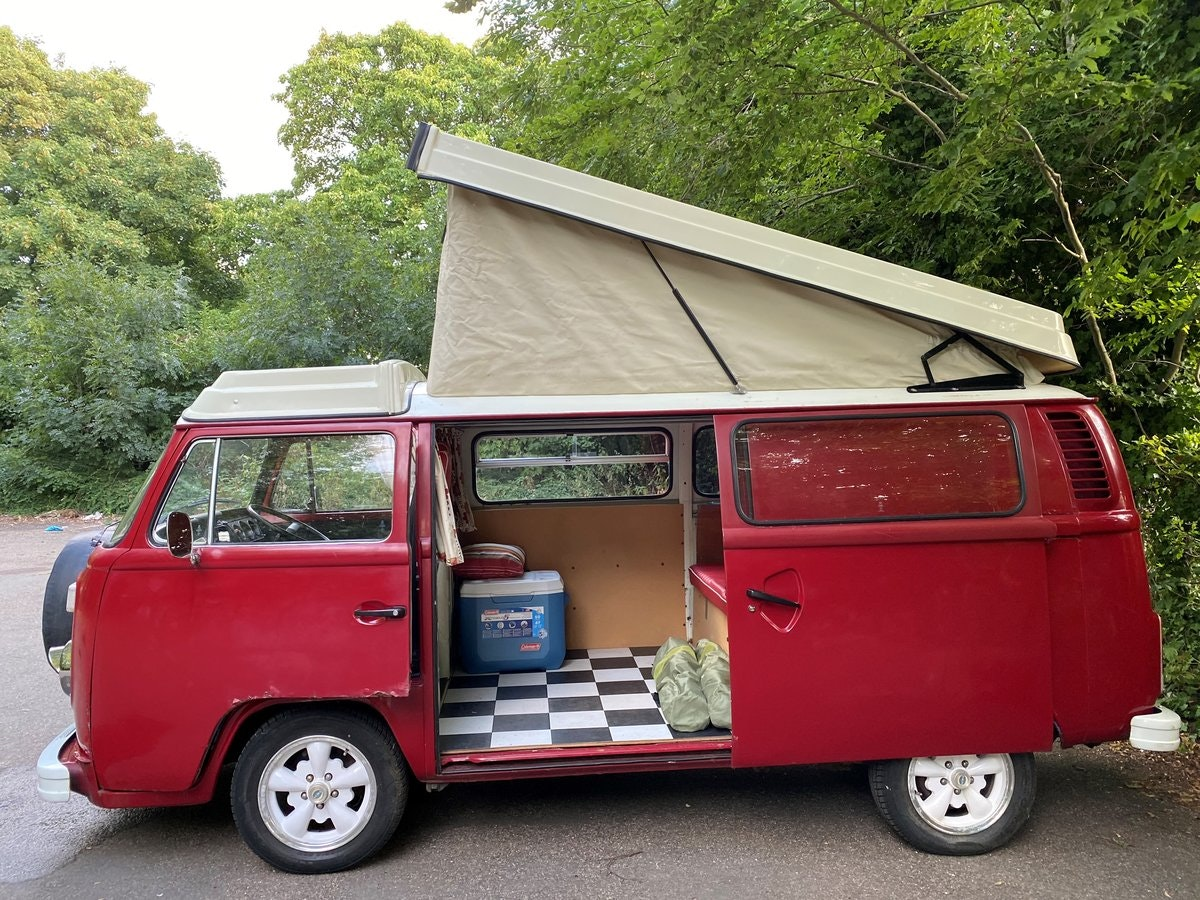 1979 VW T2 Late Bay Campervan 2.0L Mot+Tax Exempt For Sale (picture 7 of 11)