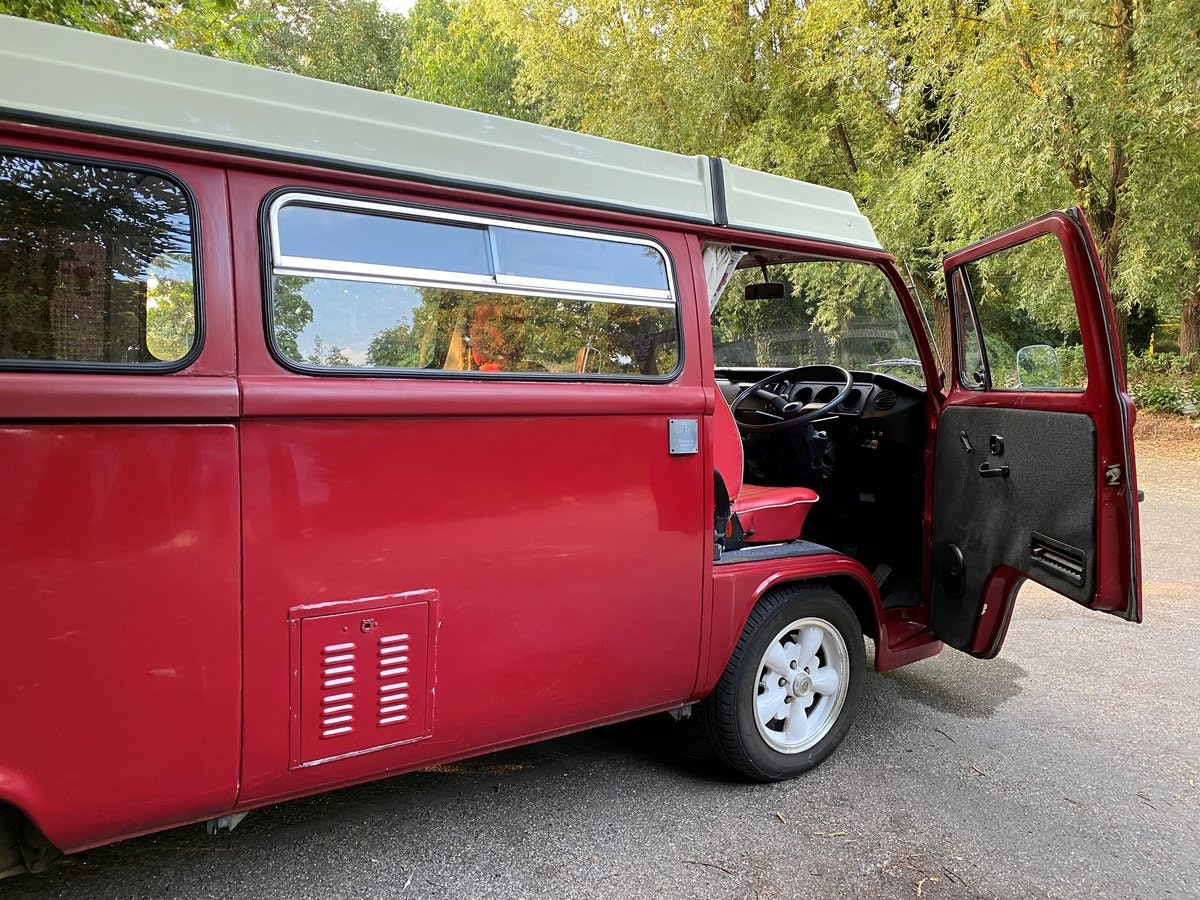 1979 VW T2 Late Bay Campervan 2.0L Mot+Tax Exempt For Sale (picture 8 of 11)
