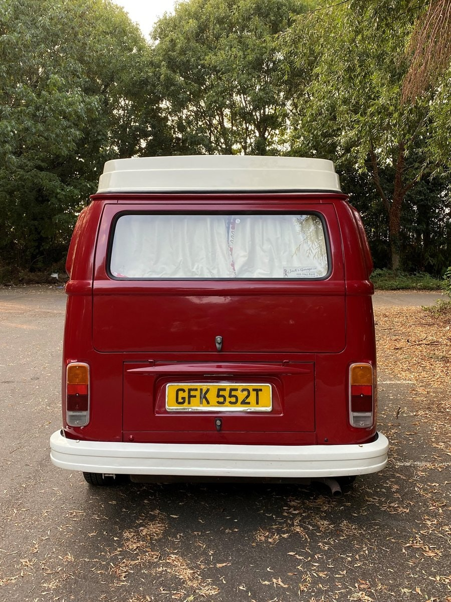 1979 VW T2 Late Bay Campervan 2.0L Mot+Tax Exempt For Sale (picture 10 of 11)