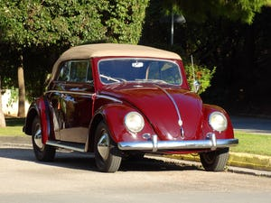 1953 VW beetle convertible For Sale (picture 1 of 12)