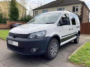 2013 VW Caddy 4Motion 4x4 Overland Camper FSH For Sale (picture 1 of 10)