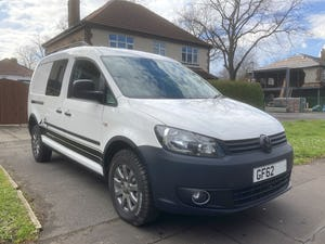 2013 VW Caddy 4Motion 4x4 Overland Camper FSH For Sale (picture 2 of 10)