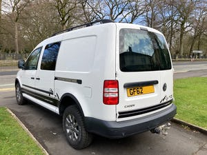 2013 VW Caddy 4Motion 4x4 Overland Camper FSH For Sale (picture 4 of 10)