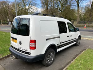 2013 VW Caddy 4Motion 4x4 Overland Camper FSH For Sale (picture 5 of 10)