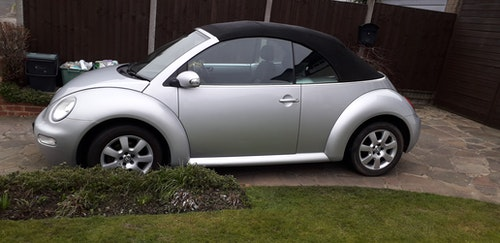 Picture of 2005 2 Litre Manual VW Beetle Convertible For Sale