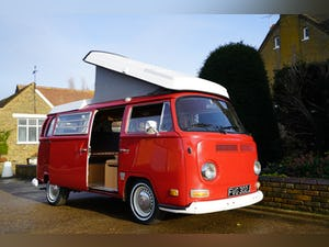 1971 VW T2 Early Bay Westfalia Campervan LHD For Sale (picture 1 of 10)