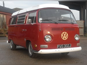 1971 VW T2 Early Bay Westfalia Campervan LHD For Sale (picture 10 of 10)