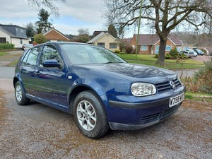 2000 Stunning 1 owner Golf For Sale (picture 1 of 12)