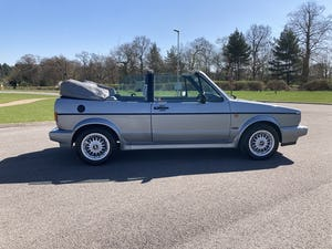 1989 MK1 Volkswagen Golf Clipper Convertible FULLY RESTORED For Sale (picture 1 of 12)