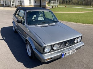 1989 MK1 Volkswagen Golf Clipper Convertible FULLY RESTORED For Sale (picture 4 of 12)