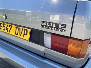 1989 MK1 Volkswagen Golf Clipper Convertible FULLY RESTORED For Sale (picture 5 of 12)