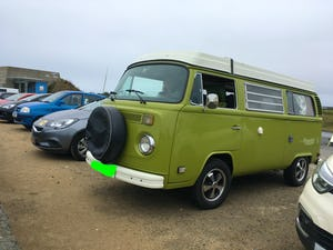 1978 T2 CAMPER VAN  2000cc body in A1 condition For Sale (picture 2 of 2)