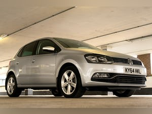 2014 VW POLO 1.2 Bluemotion FSH/MOT For Sale (picture 2 of 12)