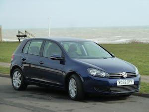 2009 VOLKSWAGEN GOLF 2.0TDI SE 140ps DSG AUTOMATIC 5DR LOW MILES For Sale (picture 1 of 12)