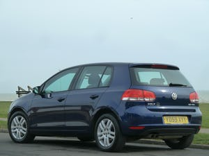 2009 VOLKSWAGEN GOLF 2.0TDI SE 140ps DSG AUTOMATIC 5DR LOW MILES For Sale (picture 7 of 12)