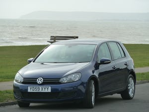 2009 VOLKSWAGEN GOLF 2.0TDI SE 140ps DSG AUTOMATIC 5DR LOW MILES For Sale (picture 10 of 12)