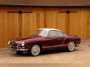1967 VW Karmann Ghia. Right Hand Drive. Stunning in Burgundy For Sale (picture 1 of 12)