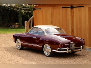 1967 VW Karmann Ghia. Right Hand Drive. Stunning in Burgundy For Sale (picture 6 of 12)