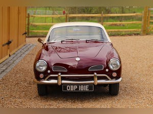 1967 VW Karmann Ghia. Right Hand Drive. Stunning in Burgundy For Sale (picture 7 of 12)