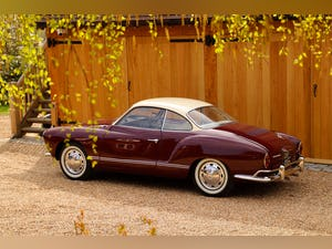 1967 VW Karmann Ghia. Right Hand Drive. Stunning in Burgundy For Sale (picture 8 of 12)