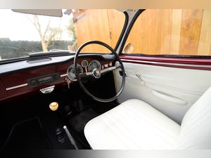 1967 VW Karmann Ghia. Right Hand Drive. Stunning in Burgundy For Sale (picture 9 of 12)