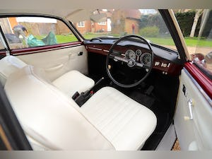 1967 VW Karmann Ghia. Right Hand Drive. Stunning in Burgundy For Sale (picture 11 of 12)