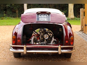 1967 VW Karmann Ghia. Right Hand Drive. Stunning in Burgundy For Sale (picture 12 of 12)