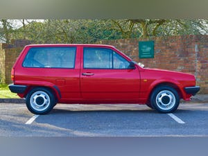 VW VOLKSWAGEN POLO 1.0 MK2 FOX HACTHBACK RED 1990 BREADVAN For Sale (picture 4 of 19)