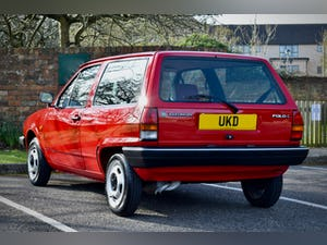 VW VOLKSWAGEN POLO 1.0 MK2 FOX HACTHBACK RED 1990 BREADVAN For Sale (picture 6 of 19)