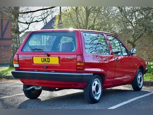 VW VOLKSWAGEN POLO 1.0 MK2 FOX HACTHBACK RED 1990 BREADVAN For Sale (picture 7 of 19)