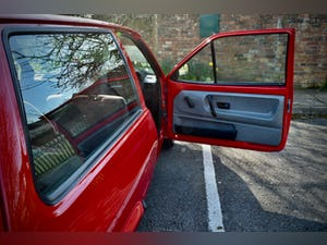 VW VOLKSWAGEN POLO 1.0 MK2 FOX HACTHBACK RED 1990 BREADVAN For Sale (picture 16 of 19)