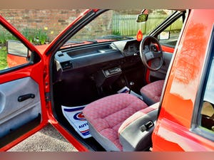 VW VOLKSWAGEN POLO 1.0 MK2 FOX HACTHBACK RED 1990 BREADVAN For Sale (picture 17 of 19)