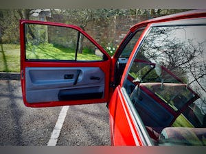 VW VOLKSWAGEN POLO 1.0 MK2 FOX HACTHBACK RED 1990 BREADVAN For Sale (picture 18 of 19)