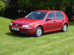 2000 Volkswagen Golf 1.6 SE 50,000 miles FSH 21 x Services SOLD For Sale (picture 1 of 12)